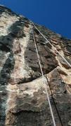 Rock Climbing Photo: Pinched Sack.