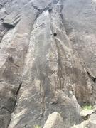 Rock Climbing Photo: Bear-Huggy Arete 12d
