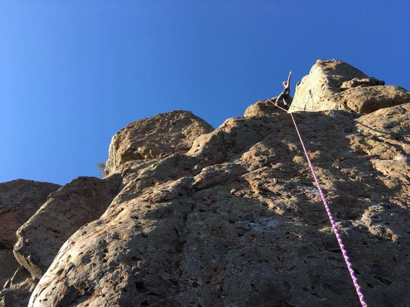 Beautiful day on New Tradition.  Really enjoyed this route.