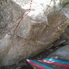 Millie boulder right
