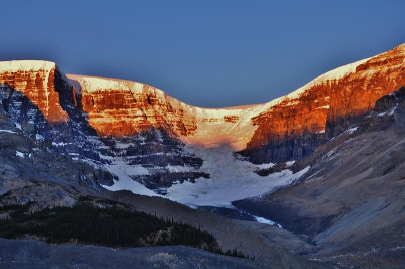 Columbia Icefield area, Alberta Canada