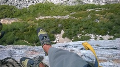 Rock Climbing Photo: Bear Reach