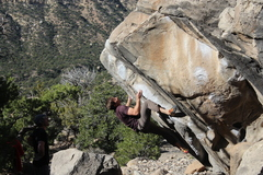 Joes is a great camping area where people sometimes climb