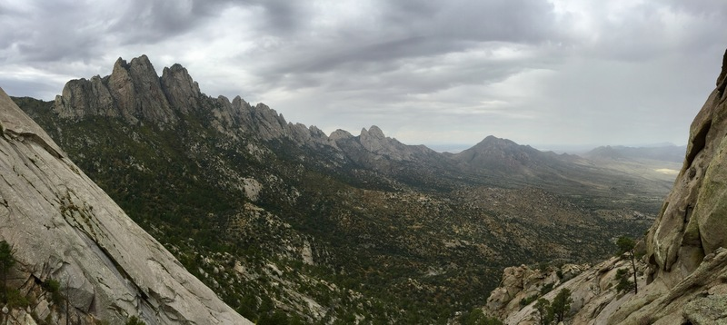 pano from half way up looking out