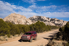 Rock Climbing Photo: Driving out of the area, utilizing a tripod and re...