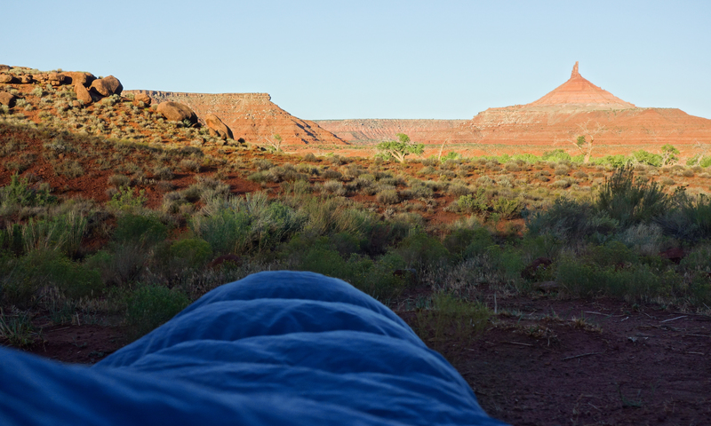 South Six Shooter from Superbowl Campground