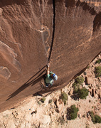 Rock Climbing Photo: Mean Weaner