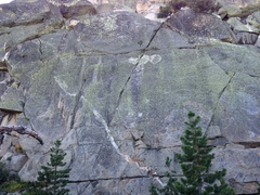 Photo of 10a-R,5.9 TR, Radical Right 5.9, Old Guys with the Shakes 5.10b,Mothers and Fathers 5.7+