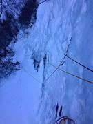 Rock Climbing Photo: Looking down a steeper line in the Playground just...