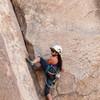 Joyce Pink Pointing Sheet bends