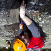 Crack climbing in Sweden