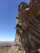Rock Climbing Photo: Another Scary but amazing V3