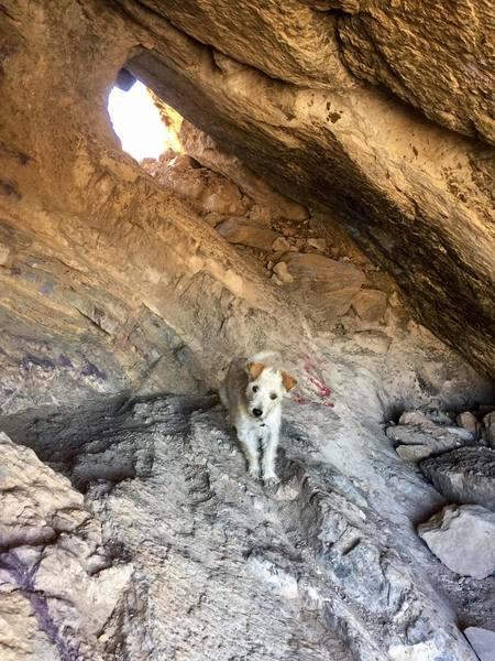 inside the boulder