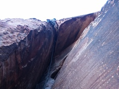 After the crux