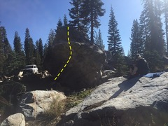 "Rock Climbing Photo: ""Warhol Never Did This""  Close parking..."