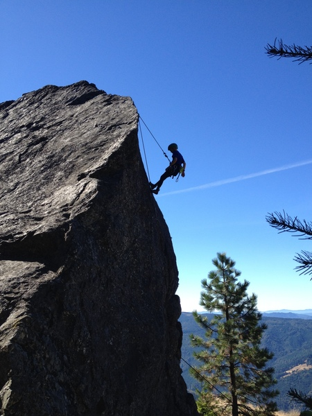 Cadence Brown lowering off Where the Green Fern Grows