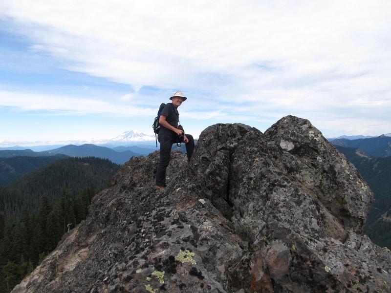 Don on the summit