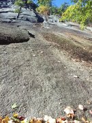 """Rock Climbing Photo: P1 and P2 of """"Beginner's Easy Variation""""..."""