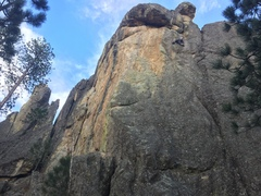 Fun climbing, good warm up.