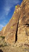 Rock Climbing Photo: Gritstone Arete.