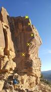 Rock Climbing Photo: Simple Physics.