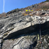 """RN#3  RH at """"White Slab#1"""" on P2 (Really hard to see, but the cropped photo was too small to post)"""