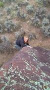 Rock Climbing Photo: Mandy Martin, V0.