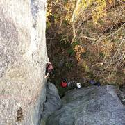 Dylan Oliver following the FA of Bite and Fight (12a).