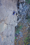 Rock Climbing Photo: Mark Hofmeister on Basalt of the Earth.