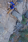 Rock Climbing Photo: Mark Hofmeister on the sport finish.