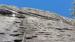 Rock Climbing Photo: Where the route goes