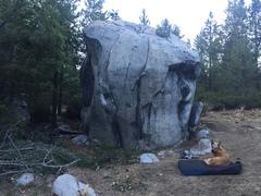 Rock Climbing Photo: Prosser Boulder
