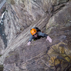 My buddy pulling the last moves on the final pitch, nice and chilly 15 degree day :)