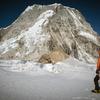 Climbing Ishinca near Huaraz, Peru