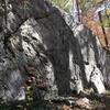 Warm-up boulder