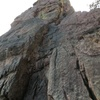 Another pic (partial) of 2nd pinnacle East face, as seen from the base.