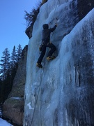 Rock Climbing Photo: Steeper curtains without snow slogging can be had ...