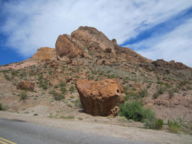 The Mooney Boulder.