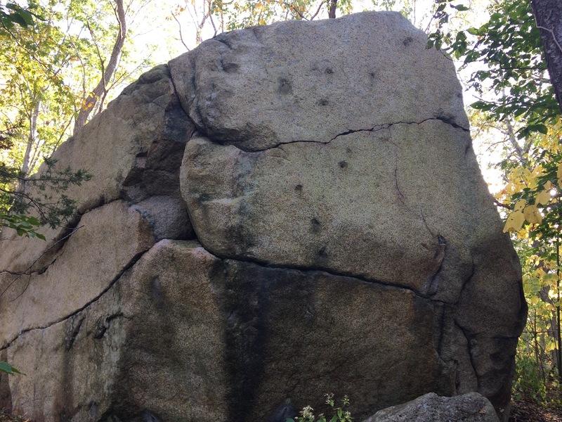 Bullet Boulder's right face.