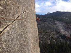 Rock Climbing Photo: P7 Traverse