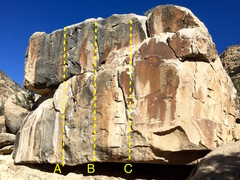 Rock Climbing Photo: A) Huge Mama B) Suck That C) Chit