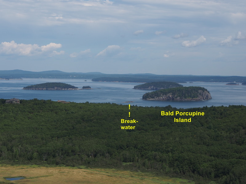 Porcupine Islands - See also the telephoto posted to Bald Porcupine Island