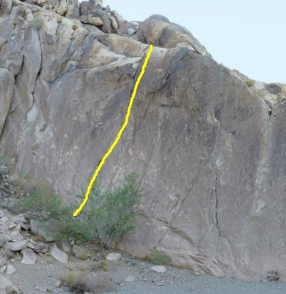 5.9 Crack, photo courtesy of George Smith collection.