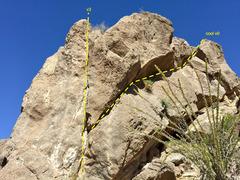 Rock Climbing Photo: V0 traverse