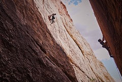 One of the cleanest lines in Red Rock. Area classic!