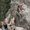 Meg and Kaycee, starting Naughty Pine 5.6