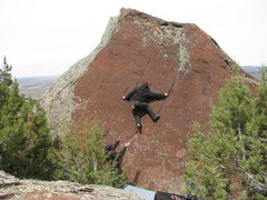 Rock Climbing Photo: N. Cross Mountain bouldering.
