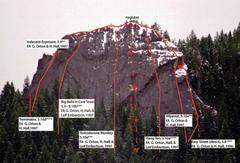 Rock Climbing Photo: McKinley Rock from Rock Climbing Western Oregon, ...