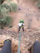 Rock Climbing Photo: Rappelling.