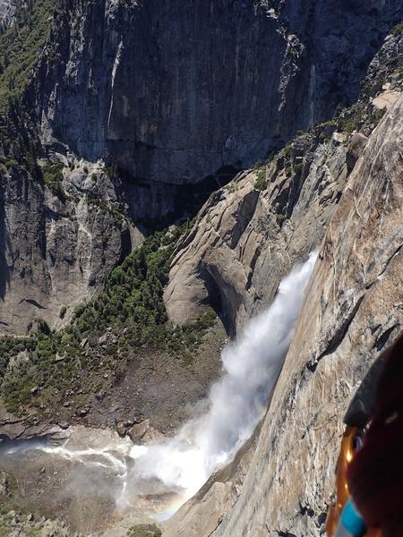 Upper Yosemite Falls, Lost Arrow Tip, Yosemite CA